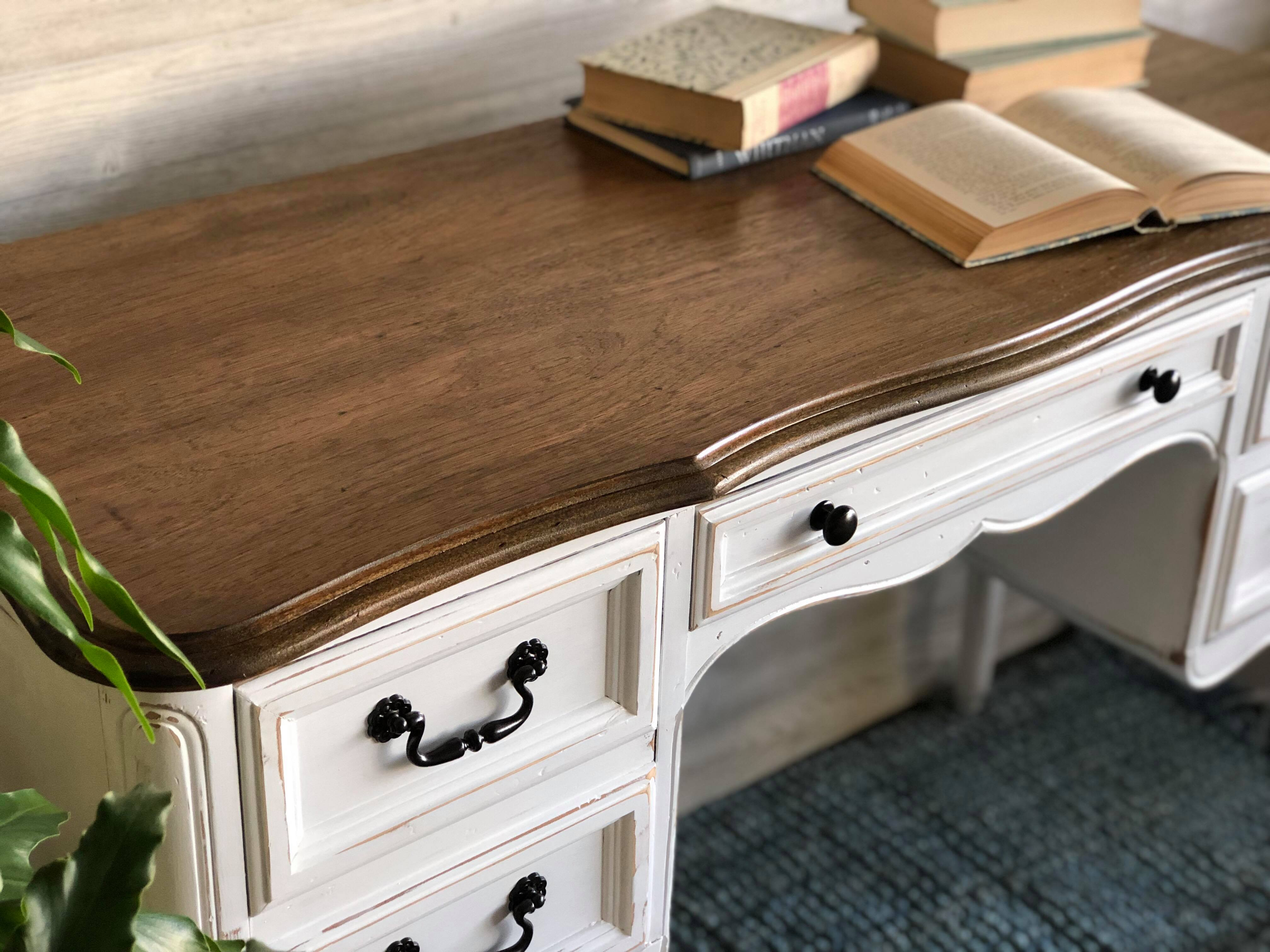 How to Sand, Stain, and Seal your furniture! Step by Step Guide to Beautifully Painted Furniture. Learn how to paint furniture like a pro!