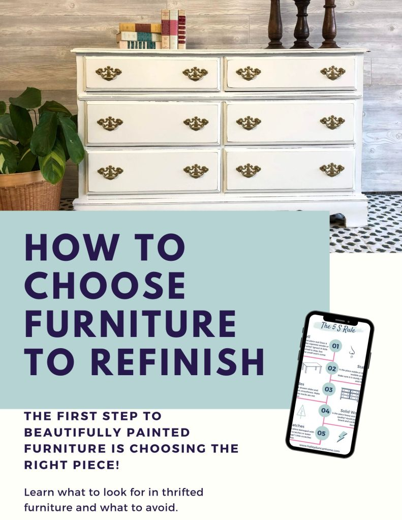 How to choose furniture to refinish
