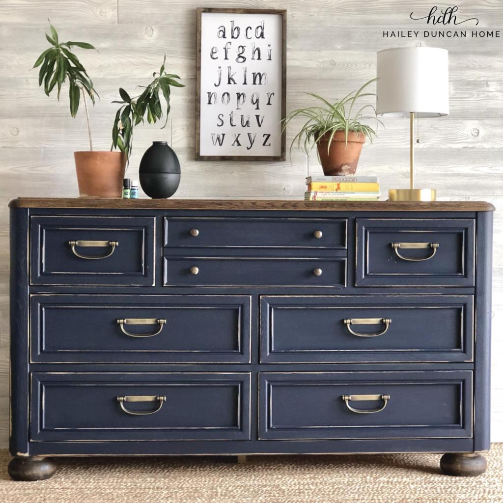Painted Stanley Dresser
